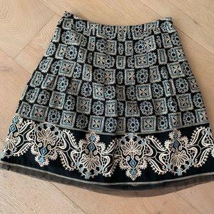 Ann Taylor Loft A-line Petite Skirt 6
